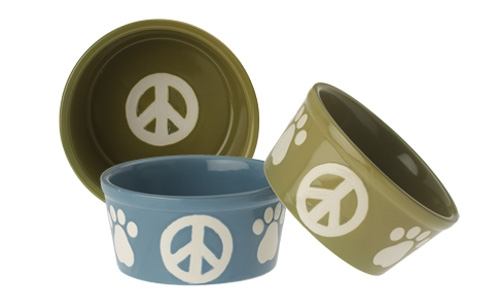 Green Peace Paws Bowl