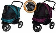 Pet Gear No Zip Double Stroller