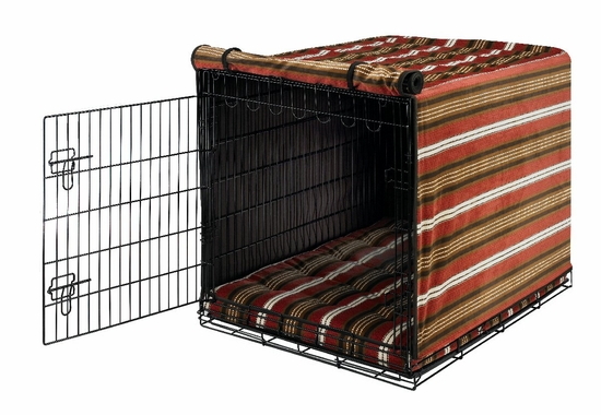 Bowser Stripe Crate Mat & Crate Cover