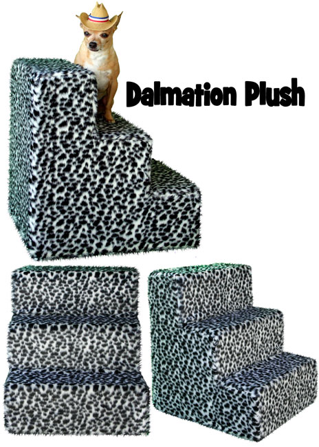 Plush Dalmation Pet Steps
