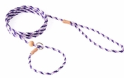 Purple Nylon Combo Slip Lead with Stop