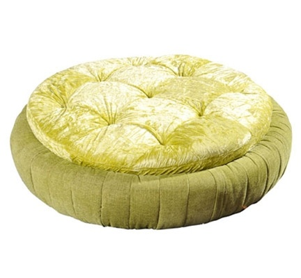 Round Lime Bed