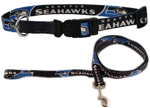 Seattle Seahawks Collar or Leash