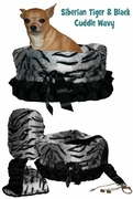 Pet Flys Siberian Tiger/Black Reversible Snuggle Bug