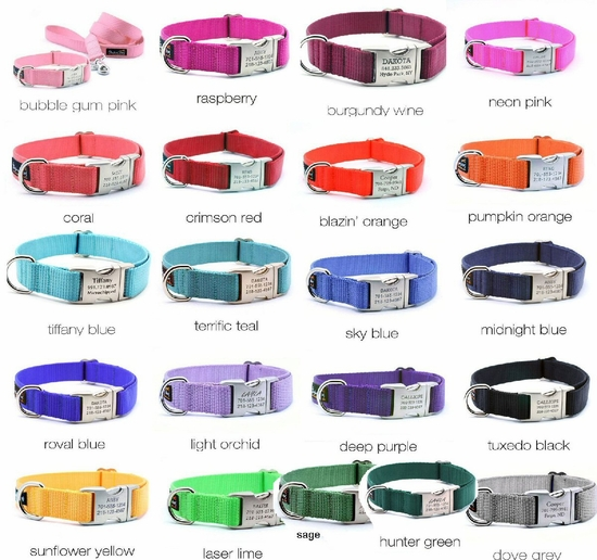 Solid Color Collars