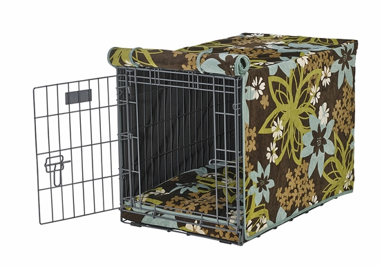 St Tropez Microvelvet Crate Mat & Crate Cover