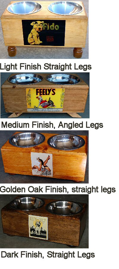 Terrier Feeders & Toy Boxes