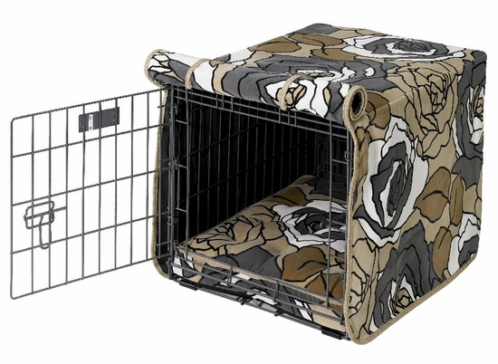 Tranquility Microvelvet Crate Mat & Crate Cover