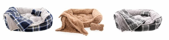Utra Soft Plush with Bone and Blanket