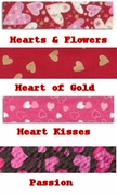 Valentines Day Collars by Elmo's Closet