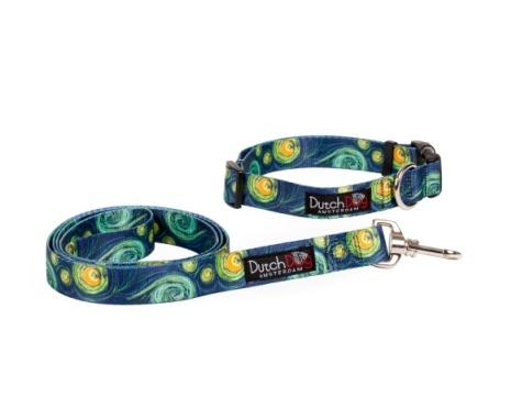 Van Gough Starry Night Collar or Leash