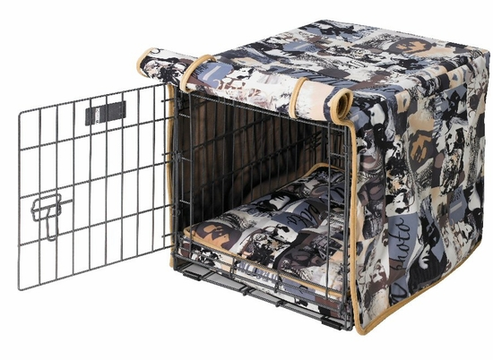 Vogue Microvelvet Crate Mat & Crate Cover