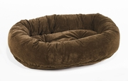 Bowsers Walnut Microvelvet Donut Bed