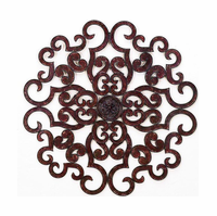 "38"" Regal Paradox Handmade Iron Wall Sculpture"