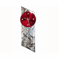 Ares Modern Wall Clock Sculpture