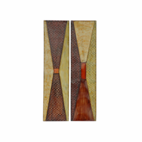Bowtie Beauties Metal Wall Art Set of 2