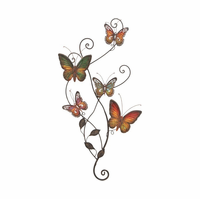Butterflies & Vines Wall Art