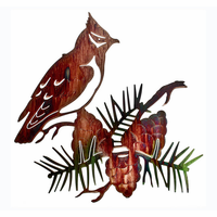 Cardinal in the Pines Wall Art