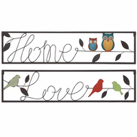 Close to Home Word Art Set of 2