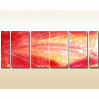 Colors of Drama Metal Wall Art Set of 6