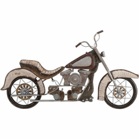 Cruiser Cycle Metal Wall Art