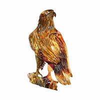Eagle's Repose Metal Wall Hanging