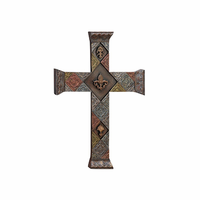 Embellished Stamping Metal Wall Cross