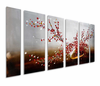 End of Winter Flower Wall Art Set of 6