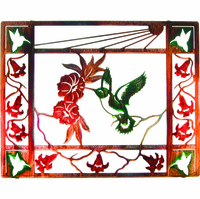 Hummingbird Montage Metal Wall Art