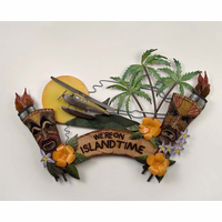 Island Escape Metal Wall Hanging