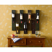 Jeweled Sensation Staggered Metal Wine Rack