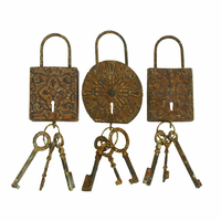 Keys to the Past Wall Art Set of 3