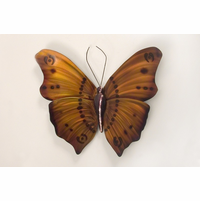 Layered Neutrals Butterfly Wall Art