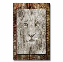Lion Eyes Exotic Animal Art