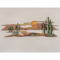 Magnificent Southwest Landscape Metal Art