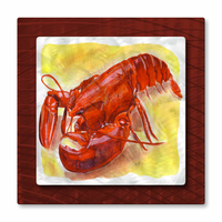 Maine Course Lobster Wall Art