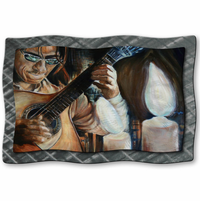 Mandolin Solo Musical Wall Art