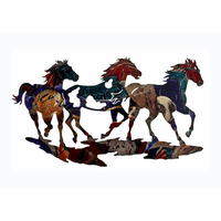 Mustang Horse Trio Wall Art
