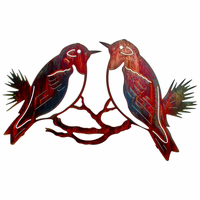 Pair of Sparrows Wall Art