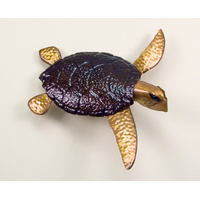 Sea Turtle 3D Metal Wall Art