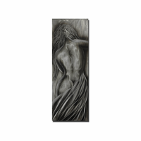 Silver Maiden Sensuous Wall Art