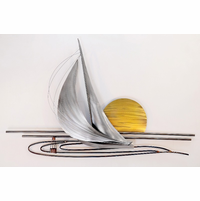 Sliver of Daylight Sailboat Wall Artwork