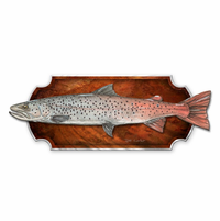Speckled Taimen Fish Plaque