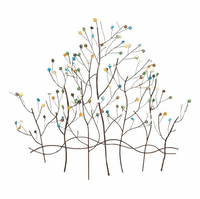 Spring Buds Contemporary Trees Wall Art