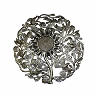 Sunflower Shining Handmade  Metal Wall Art