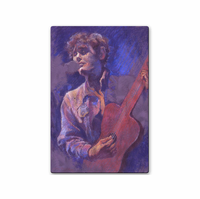 The Folksinger Musical Wall Art