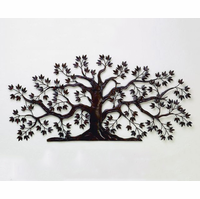Tree of Abundant Life Handmade Metal Wall Art