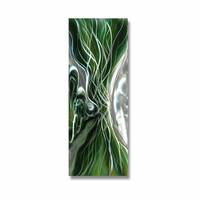 Up Close and Personal Abstract Aluminum Wall Art