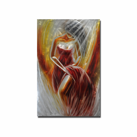 Windswept Beauty Metal Wall Art