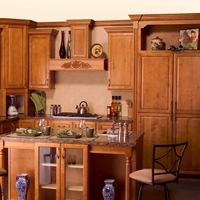 Bristol Toffee Kitchen Cabinets